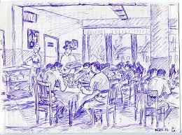 Рисунки технаря Жил наш курс в казарме на втором этаже над залом дипломного проектирования Но вначале на месте ЗДП была 6 рота Общежития мы не дождались