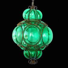 italian pendant lighting. Vtg Murano Caged Glass Green Ceiling Pendant Light/Midcentury Hanging Lamp/ Italy #French Italian Lighting N