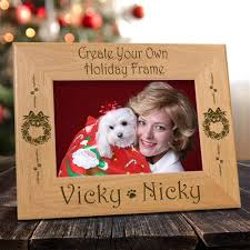 Design your own picture frame Wood We Give You Different Dog Inspired Designs To Help You Create Your Very Own Personalized Holiday Frame Faith Forgotten Choppers Create Your Own Holiday Dog Frame