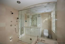 frameless glass shower surrounds shower and tub