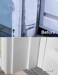 garage door frames replacement