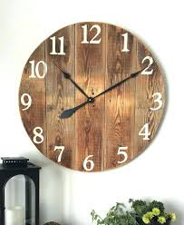 rustic large wall clock rustic wall clocks large wooden wall clock made from pine boards wood comes from barn siding large rustic wood wall clocks