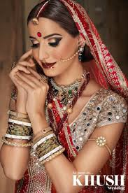 get that authentic indian bridal look with hair makeup by yasmin s khanom 502 219 outfit zarkan of london jewellery anees malik gl bangles