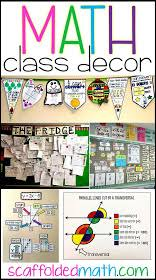 Add some color and inspiration with classroom posters. Scaffolded Math And Science Math Classroom Decoration Ideas