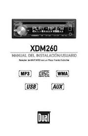 dual xdm260 cd mp3 usb receiver front aux input walmart com owner s manual english
