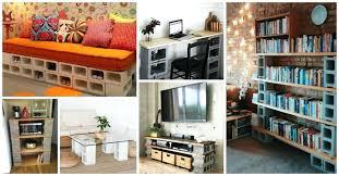 cinderblock furniture. Plain Furniture Cinder Block Furniture Backyard Home Design Inspiration Endearing  Outdoor Lounge Concrete From  Intended Cinderblock U