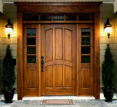 modern single door designs for houses. Unique For Warm Wall Lamp On The Cream With Wooden Modern Single Door Designs For  Houses Impressive Ideas Throughout
