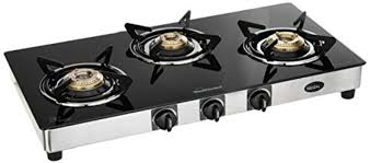 Sunflame GT Regal Stainless Steel 3 Burner Gas Stove Price And