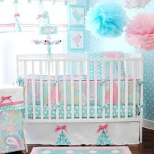 rose baby bedding girl blue vintage nursery