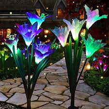 changyun outdoor solar garden stake