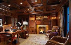 ultimate home office. Home Office , Ultimate Design : With Wood Panels And