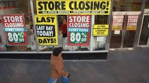 Image result for STORE CLOSINGS