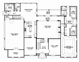 4 bedroom 3 5 bath 1 story house plans inspirational 3 bedroom 3 5 bath 1 story