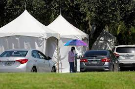 Florida COVID-19 cases surge to record ...