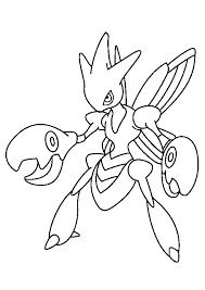 Cizayox Le Pokémon à Pinces à Colorier For Q Pokemon Coloring