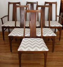 century modern dining chairs set mcm chevron dining chairs set of
