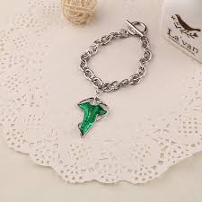 d70682 alloy drop oil jewelry lord of the rings wizard bracelet leaves jewelry 8090jewelry com