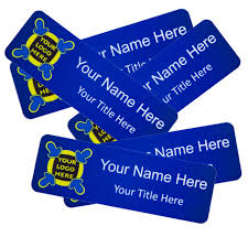Rectangle Name Badge Full Colour