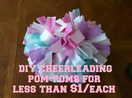 Picture of DIY Cheerleading Pom-Poms