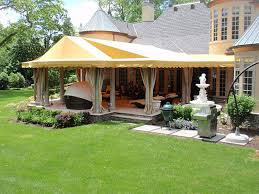canvas patio awning