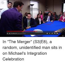 The Office The Merger 1112 The Office Us Season 3 Ep 8 The Merger The Office Meme On Me Me