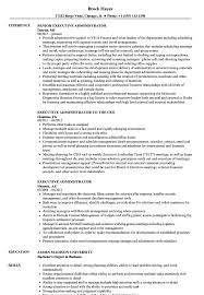 Executive Admin Resume Executive Administrator Resume Samples Velvet Jobs 14