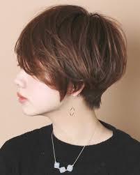 顔がでかい女性に似合う髪型16選ショートは小顔効果あり Belcy