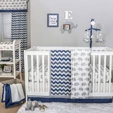 kids beds navy blue and white striped crib bedding baby girl elephant nursery baby nursery