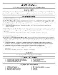 Payroll Accountant Resume Awesome Medical Records Clerk Cover Letter