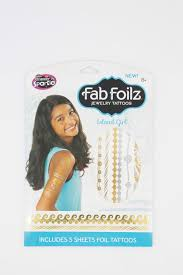 Foilz Hair Design Shop Cra Z Art Fab Foilz Jewelry Tattoos Island Girl Aqua