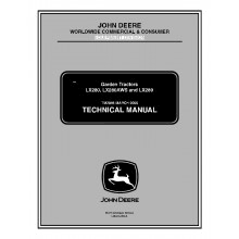 john deere lx280 lx280aws and lx289 garden tractors technical john deere lx280 lx280aws and lx289 garden tractors technical manual tm 2046 pdf