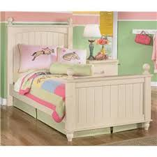 kids bed store. Contemporary Bed Signature Design By Ashley Cottage Retreat Twin Poster Bed For Kids Store D