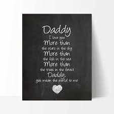 Ocean Drop Designs Daddy Gift Daddy Quote Sign Daddy Quotes Best Daddy Gift Chalkboard