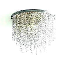 mini flush mount chandelier mini flush mount chandelier semi crystal lamp modern mini style 1 light