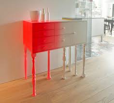 wood colours for furniture. classic furniture meets bright neon colours the eclectic squid cabinet interesting modern design wood for