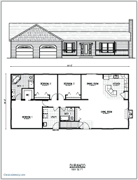 plans ranch style home plans elegant open floor plan for homes with walkout basement new
