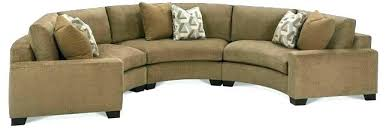 Curved Sectional Couches Small Sofa Incredible  Leather With Chaise Rounded R55