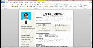 How To Create A Resume On Word Amazing 2812 Manificent Decoration How To Create A Resume On Word Resume Template