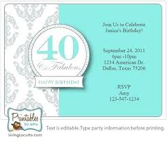 Free Online Party Invitations With Rsvp 40th Birthday Party Invitations Online Invitation Card For Birthday