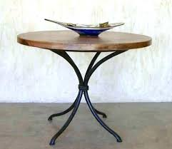 metal pedestal table base. Metal End Table Base Pedestal The Most New Household . T