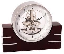 fancy design desk clock stylish rio de janeiro skeleton desk clock
