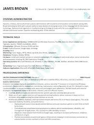 Network And Computer Systems Administrator Sample Resume Gorgeous System Administrator Sample Resume Colbroco