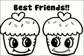 Small Picture Best Friend Coloring Pages Color Zini