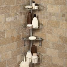 photo 1 of 4 best shower pole caddy 1 zenith 3 shelf tension pole caddy oil rubbed