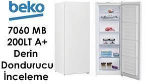 Beko 7060 MB 200LT A+ No Frost Derin Dondurucu | İnceleme ve İlk Kullanım