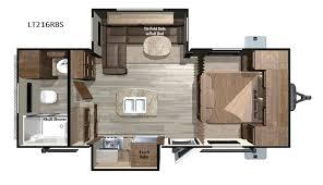 >open range light travel trailer rv sales 10 floorplans open range light lt216rbs