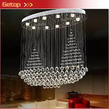 latest modern chandelier k9 crystal pendant lights plain sailing splendid oval crystal chandelier dining room bar