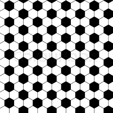 Football Pattern Cool Football Seamless Pattern In Vector Black Color Stock Vector