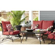 outdoor furniture set lowes. Full Size Of Conversation Sets:appealing Patio Set 6 Piece Garden Furniture Aluminum Outdoor Lowes