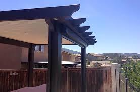 Aluma wood Patio Covers Escondido Murrieta CA Canyon Lake Lake